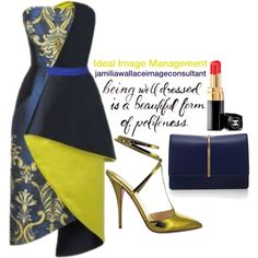 Ideal Image by jamilia-wallace on Polyvore featuring polyvore fashion style Nina Ricci Christian Louboutin Chanel