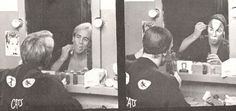 "Becoming ""Rum Tum Tugger"" Part 1. Shot in Philly at the Forrest Theatre 1986. The role I was born to play, and the best part of me"