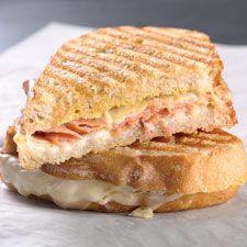Ham and Cheese Panini - We gave this panini a slight French flair by adding Dijon mustard and cheese sauce.