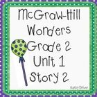 This is for Wonders 2nd Grade Unit 1 Story 2 Big Read Lollipop. This is great for workstatio/centers. Included is...  Essential Reading Question fo...