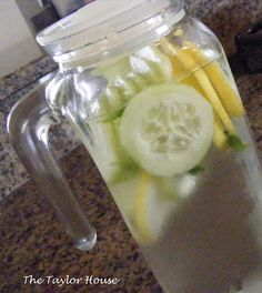Sassy Water: The Sassy Water diet may be a good plan for people who don't want to lose weight, but just want to 'cleanse' their system. The ginger, cucumber and lemon in the water recipe can improve digestion and make it easier to stick with a carb-free, sugar-free diet for a few days because it reduces cravings.