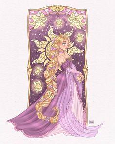 Disney Rapunzel, Disney Princess Art, Disney Fan Art, Princess Zelda, Cute Disney, Disney Girls, Disney Drawings, Cool Drawings, Male Fairy