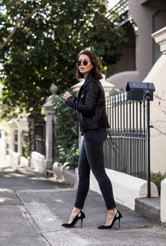 Karien Anne / 8 Key Details To Consider When Buying A Leather Jacket by Harper and Harley