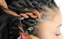 How To: Senegalese Twist Cornrows FOR BEGINNERS! (Step By Step)