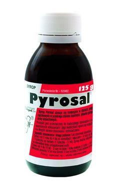 Syrop Pyrosal jest preparatem zawierającym wyciąg z: kory wierzby, kwiatu bzu czarnego, kwiatostanu lipy oraz liścia podbiału.