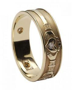 claddagh wedding rings love the idea of them especially since i