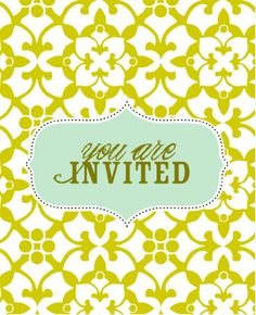 Free Printable Cards & Invites