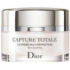 Christian Dior Capture Totale Multi-Perfection Creme Rich found on Polyvore featuring beauty products, skincare, face care, face moisturizers and christian dior