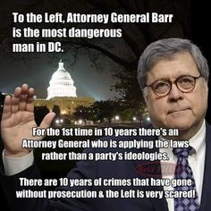 AG Barr is definitely a man of integrity.  We need more leaders like him.  Thank you AG Barr for all your hard work.  Salute to you, Sir!❤️🇺🇲⚖️