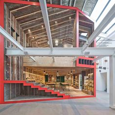 Camper Flagship Shanghai Showroom by Neri & Hu Design and Research Office is a reinterpreted two storey traditional Chinese house sliced in half. Showroom Design, Interior Design Awards, Retail Interior, Design Commercial, Commercial Interiors, Shanghai, Architecture Details, Interior Architecture, China Architecture