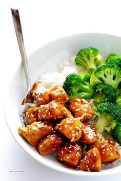 This 20-Minute Teriyaki Chicken recipe is quick and easy to make, naturally-sweetened with honey, and so flavorful!