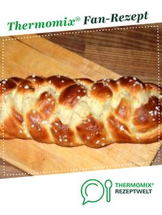 Swabian yeast braid-Schwäbischer Hefezopf Swabian braid from msurf. A Thermomix ® recipe from the category baking sweet www.de, the Thermomix ® community. Smoothie Recipes, Smoothies, Nutrition, Eating Plans, Food Items, Meal Planning, Meals, Breakfast, Healthy