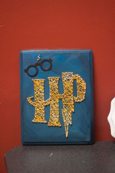 8x11 Harry Potter String Art by GrofDesigns on Etsy, $32.00