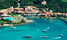 Bond Hotel - The Hotel Cala Di Volpe is beautifully situated in a small bay on the island of Sardinia, Italy