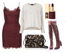 FallDate by astoldbyalaina on Polyvore featuring Topshop, Kate Spade and Yves Saint Laurent