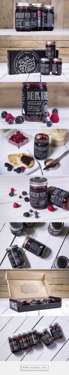 The Berry Nutty Farm — The Dieline - Branding & Packaging - created via https://pinthemall.net