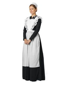 downton abbey - womens lady's maid anna costume