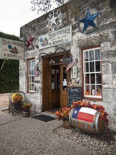Texas Vineyards & Beyond in Fredericksburg, TX.  This is a quaint little German settlement that throws a great Oktoberfest every year! Used to be a quiet getaway until tourists discovered it. Now it is quite crowded all the time!