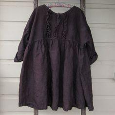 Prairie robe lin taille unique plus par MegbyDesign sur Etsy