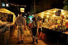 Fisherman's Village Night Market in Koh Samui