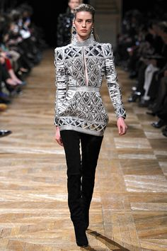 Balmain Fall 2013 RTW - Review - Fashion Week - Runway, Fashion Shows and Collections - Vogue