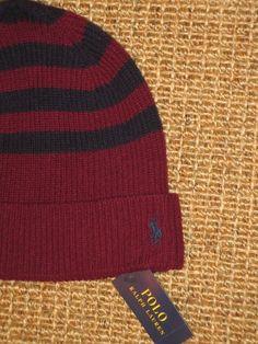 afb9a09efad Polo ralph lauren men s wool cashmere beanie hat skull cap new nwt