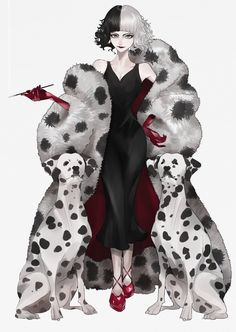 Zoophobia Comic, Poison Ivy Dc Comics, Harley Quinn Comic, Cruella Deville, Evil Art, Disney Princess Pictures, Arte Sketchbook, Family Halloween Costumes, Animated Cartoons