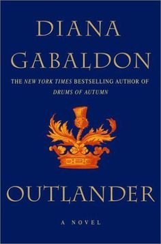 The first book in the amazing series, The Outlander Series, by Diana Gabaldon. Truly, one of my favorite series of all time.