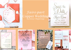 Copper Wedding, Gold Wedding, Hotel Menu, Marie, Rose Gold, Shit Happens, Inspiration, Save The Date Cards, Biblical Inspiration