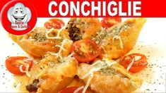 MASSA TIPO CONCHA RECHEADA, STUFFED CONCHIGLIONE Good Food, Yummy Food, Best Food Ever, Amazing Recipes, Make It Yourself, Fruit, Vegetables, Ethnic Recipes, Pasta