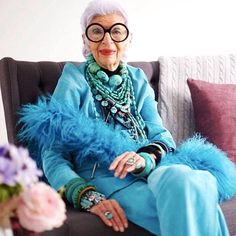 Iris Apfel - Iris Apfel's influence on fashion is impossible to ignore, and her Instagram account provides a thorough overview of exactly why she's beloved in and out of the industry. Filled with whimsical accessories, eclectic interior designs, and a look at her continuously exciting career, Apfel's feed is nonstop fun.