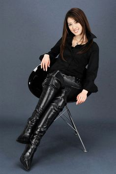 Thigh High Boots Heels, Heeled Boots, Sexy Boots, Black Boots, Sexy Stiefel, Botas Sexy, Leder Outfits, High Leather Boots, Fashion Boots