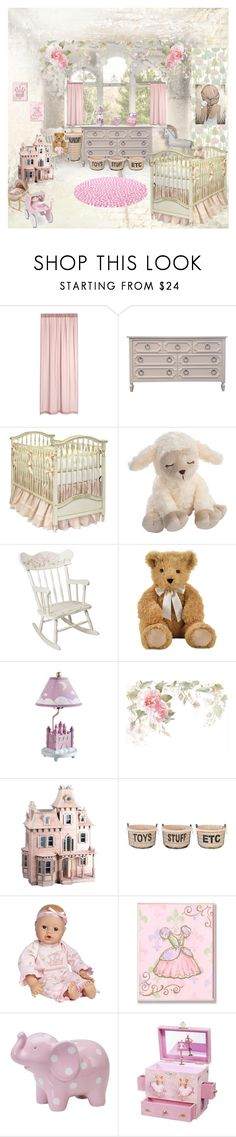 """""""COUNTRY FRENCH NURSERY"""" by lizzyslegs ❤ liked on Polyvore featuring interior, interiors, interior design, home, home decor, interior decorating, Summer Infant, Aidan Gray, Guidecraft and Dollhouse"""