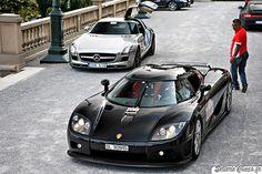 Koenigsegg CCXR & SLS