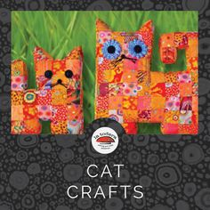Cat sewing projects for cat lovers. Cat Crafts, Cat Lovers, Sewing Projects, Cats, Gatos, Cat, Kitty, Kitty Cats