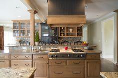 photo by Med Dement  #kitchen #granite #decor #homedecor #chattanooga #cha #kitchenisland #island #countertops #cabinets #pendantlights #appliances #rangehood #glasscabinetry