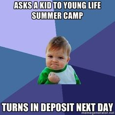 For all the Young Life leaders on Pinterest. Success!
