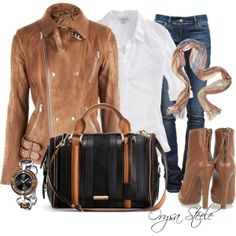 """""""Cognac"""" by orysa on Polyvore by MsMaier14"""