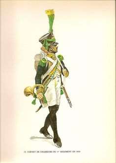 Swiss; 1st Line Infantry, Chasseur Cornet, 1810 by Jacques Calpini