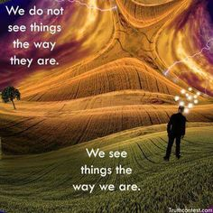 The way we see things