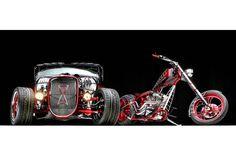 Black Widow Car – Paul Jr. Designs