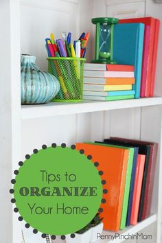 Organizing your home does not need to be difficult. Check out these great tips from our readers.....to help you get your home organized in no time at all!