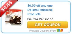 $0.55 off any one Delizza Patisserie Products
