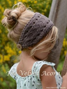 Crochet Patterns Yarn Knitting PATTERN-The Veronya warmer toddler child by Thevelvetacorn Baby Knitting Patterns, Baby Hats Knitting, Crochet Baby Hats, Knitting For Kids, Knitting Projects, Crochet Projects, Knitted Hats, Crochet Patterns, Free Knitting