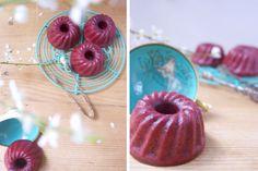Red Velvet Mini Gugelhupf   Foodblog: Törtchen und andere Leckereien