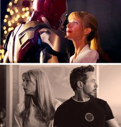 """""""You forgot one thing - she was already perfect."""" <3 #ironman3 #pepperpotts"""