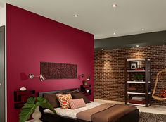 bedroom ideas inspiration - Bedroom Color Red