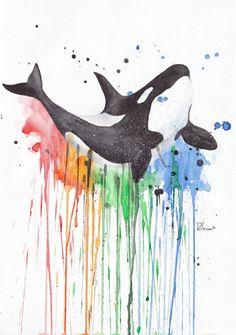 Happy Killer Whale by VitalikDumyn.deviantart.com