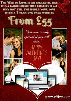 Valentines Day Website for your loved one.