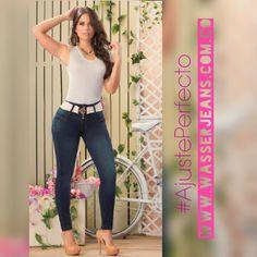 Sonríe que hoy será un grandioso día. 💝👖💝 #WasserJeans perfectos para ti.   Hacemos envíos dentro y fuera del país.  Más información línea/whatsapp +57 312 476 5220 #love #beautiful #fashion #moda #girl #mujer #women #modafemenina #jeans #denim #style #design #diseño #negocios #bussiness #emprender #shopping #ropa #mujerhermosa #womenstyle